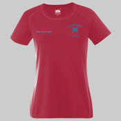 Ladies Fruit of the Loom Performance T Shirt - Juniors